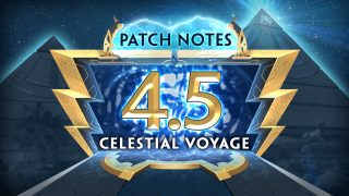SMITE Console: Celestial Voyage | 4.5 Patch Notes