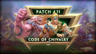 SMITE Console: Code of Chivalry | 4.11 Patch Notes
